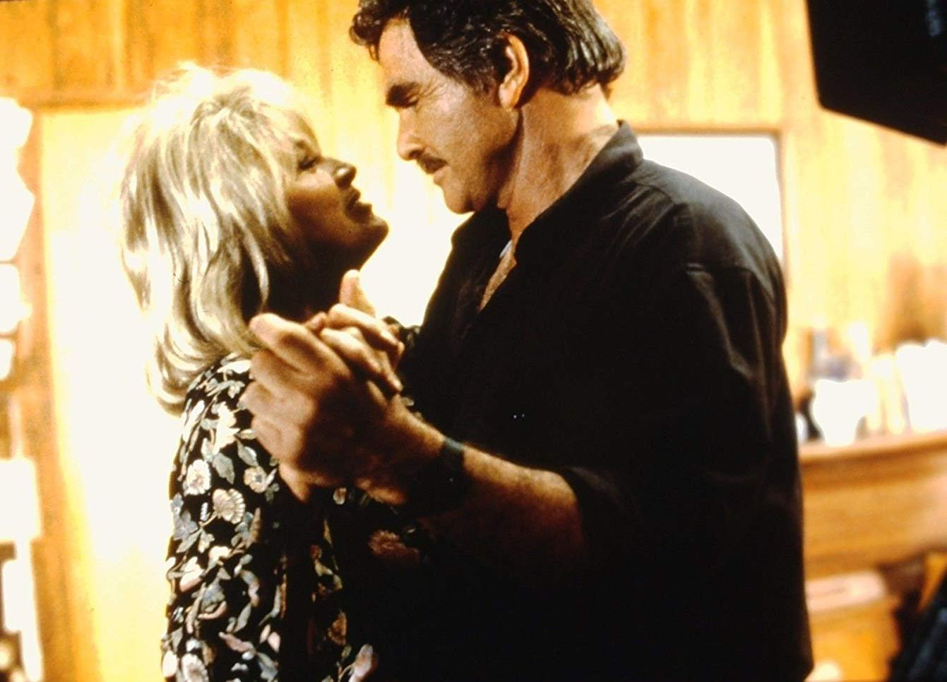 Backwoods couple Angie Dickinson and Burt Reynolds in The Maddening (1995)