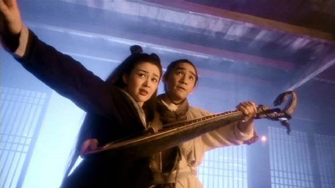 Anita Mui wields deadly mandolin with Tony Leung in The Magic Crane (1993)