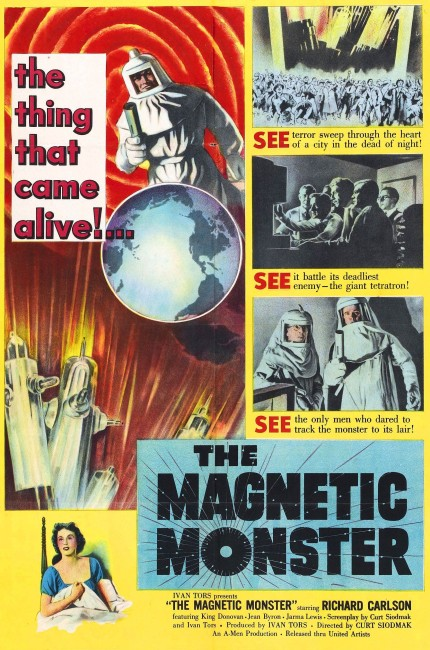 The Magnetic Monster (1953) poster