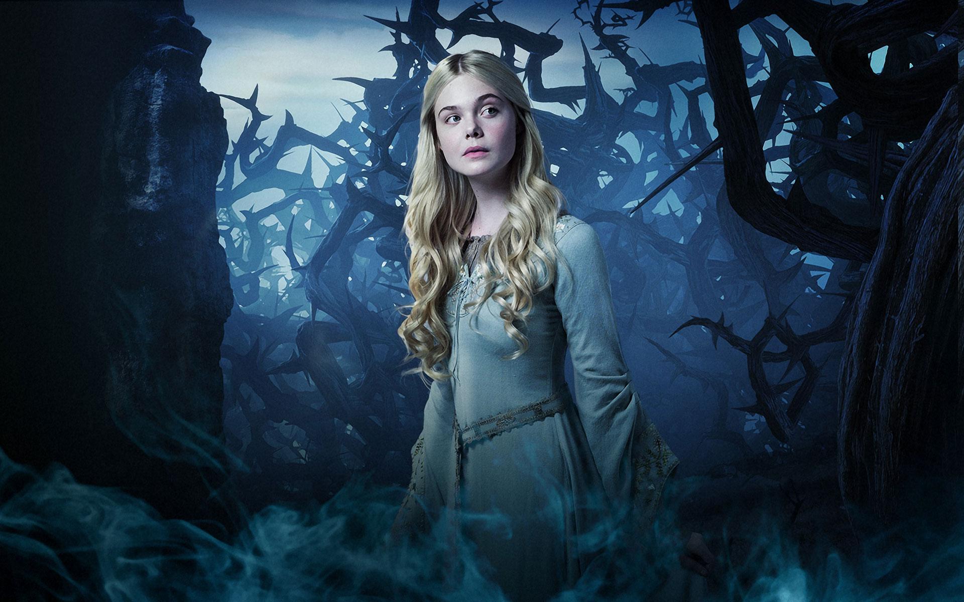 Elle Fanning as Princess Aurora in Maleficent (2014)