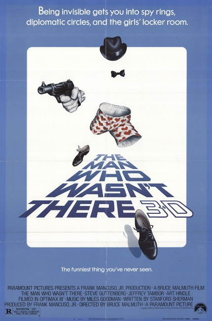 The Man Who Wasn't There (1983) poster