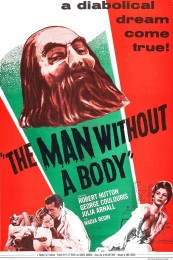 The Man Without a Body (1957) poster