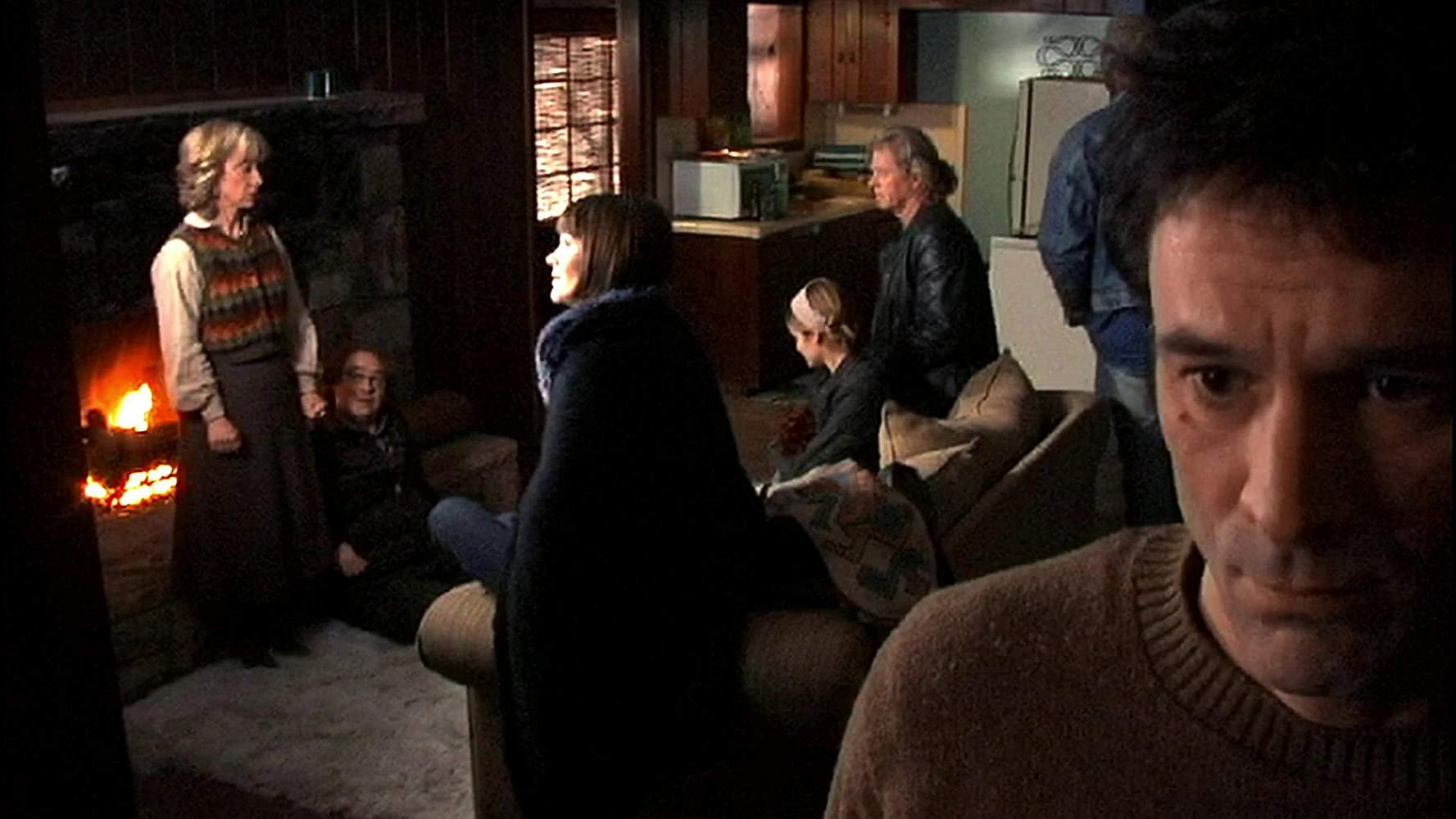 Ellen Crawford, John Billingsley, Annika Peterson, Alexis Thorpe, William Katt, Tony Todd and David Lee Smith in The Man From Earth (2007)