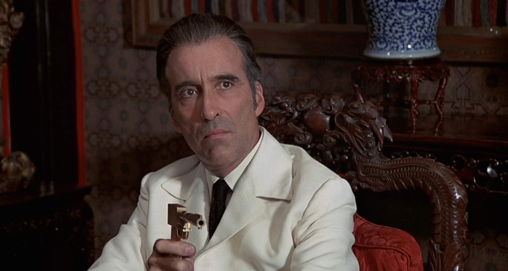 Christopher Lee as Scaramanga in The Man with the Golden Gun (1974)
