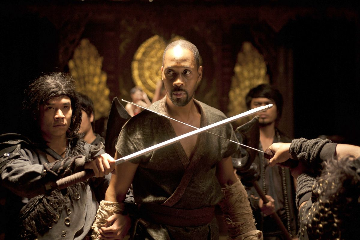 The RZA in The Man with the Iron Fists 2 (2015)