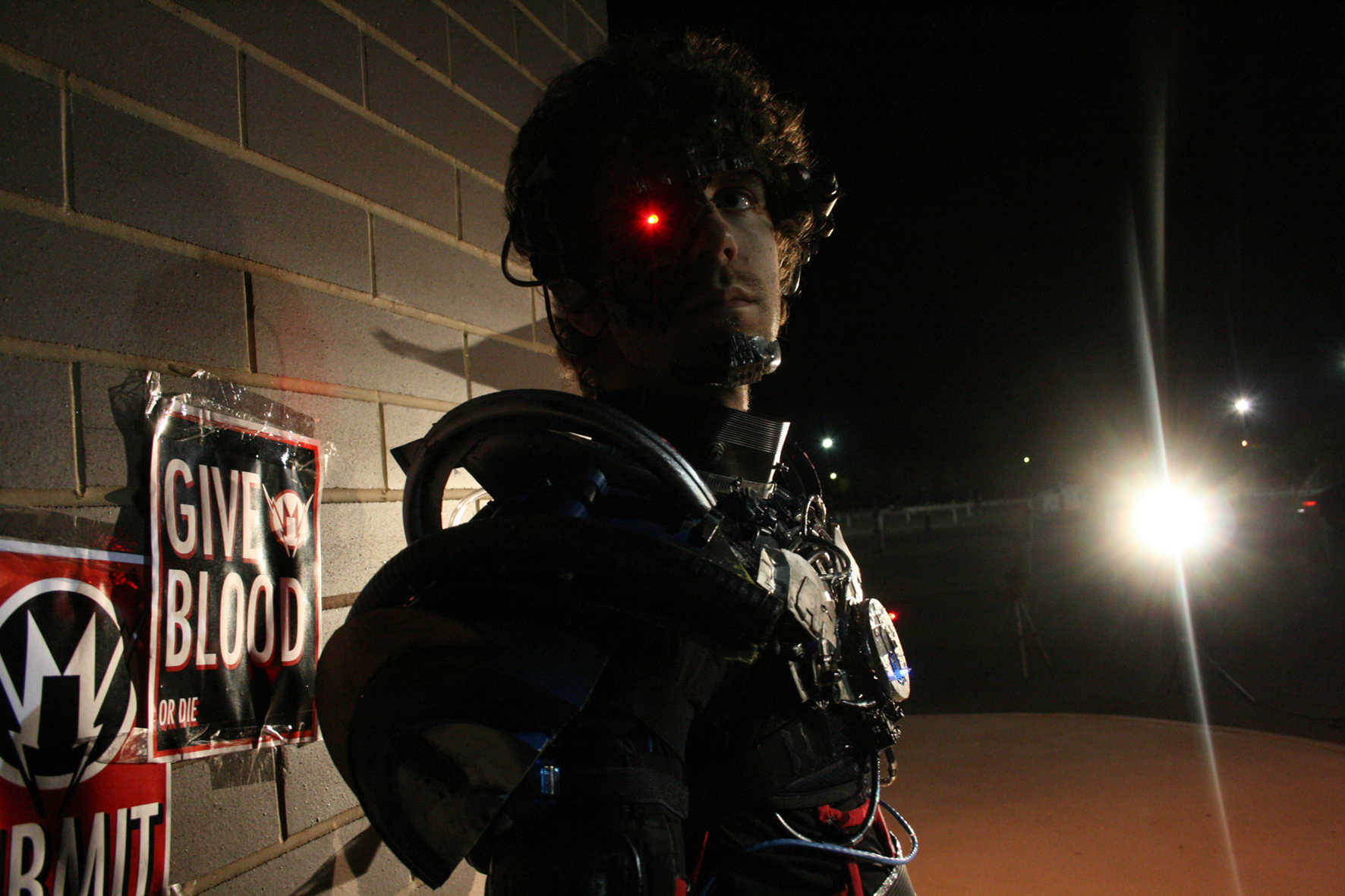 Matthew Kennedy as Manborg (2011)