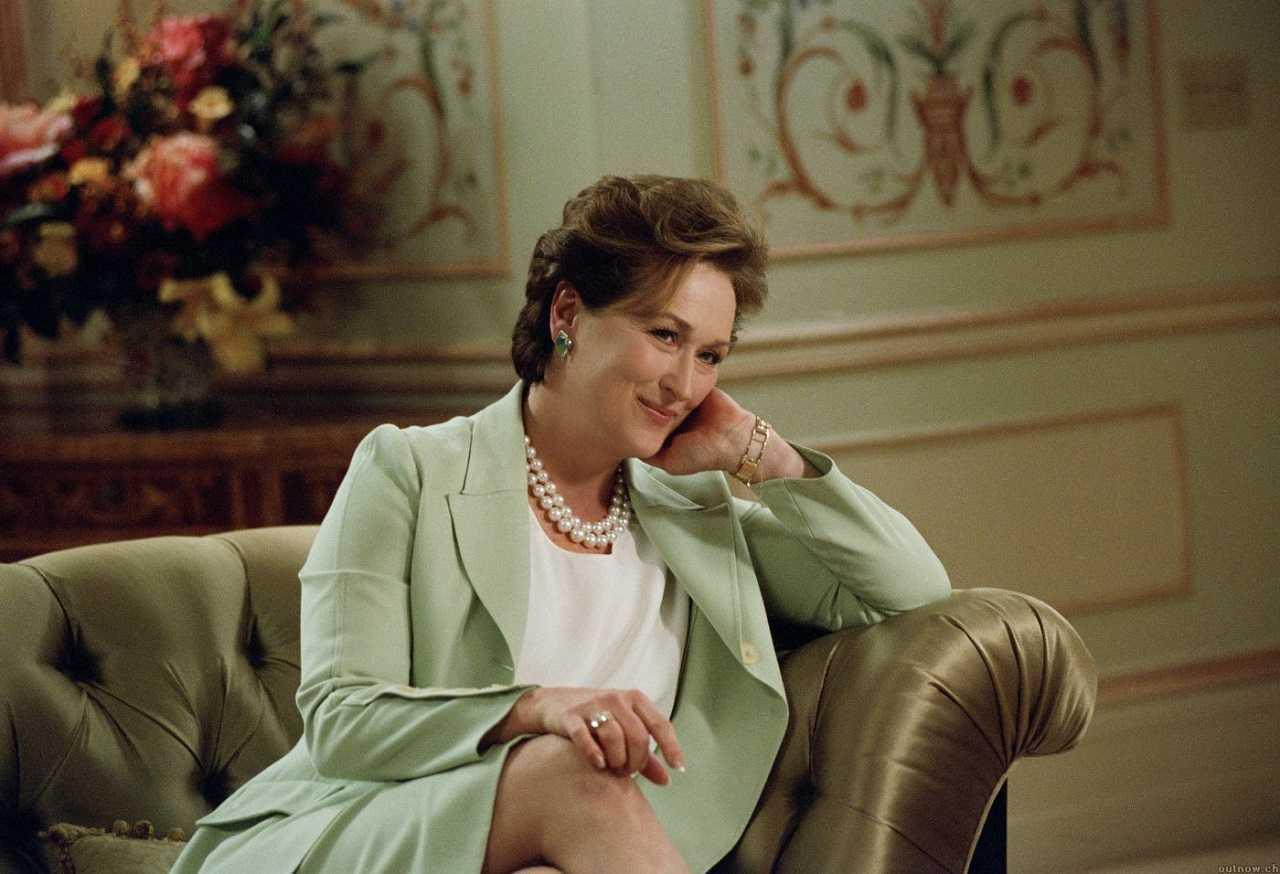 Meryl Streep as Senator Eleanor Prentiss Shaw in The Manchurian Candidate (2004)