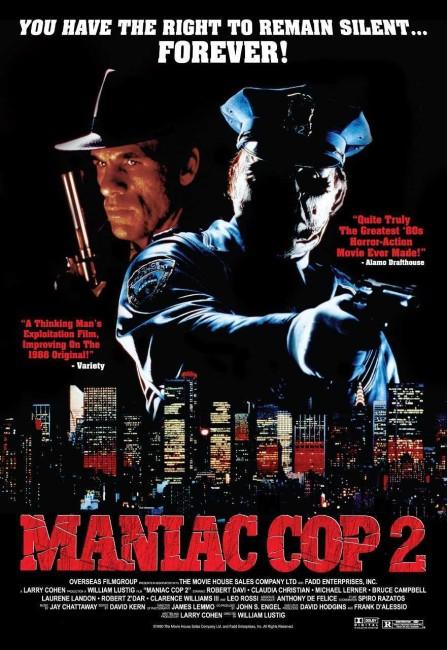 Maniac Cop II (1990) poster