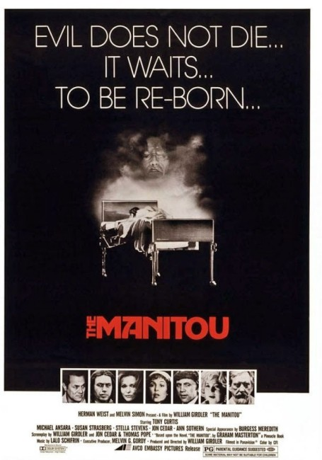 The Manitou (1978) poster