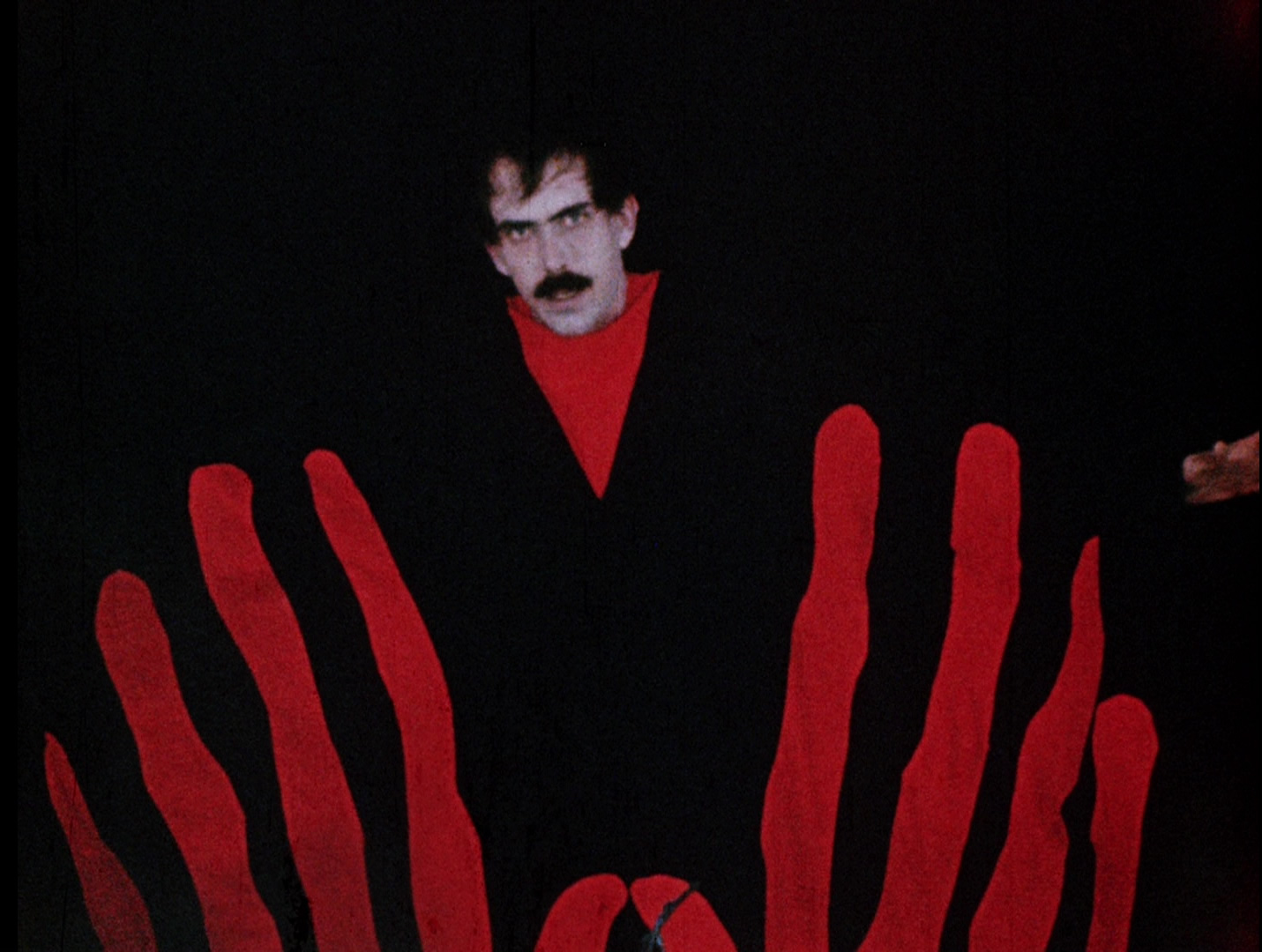 The Master (Tom Neyman) resurrected from the dead in Manos: The Hands of Fate (1966)