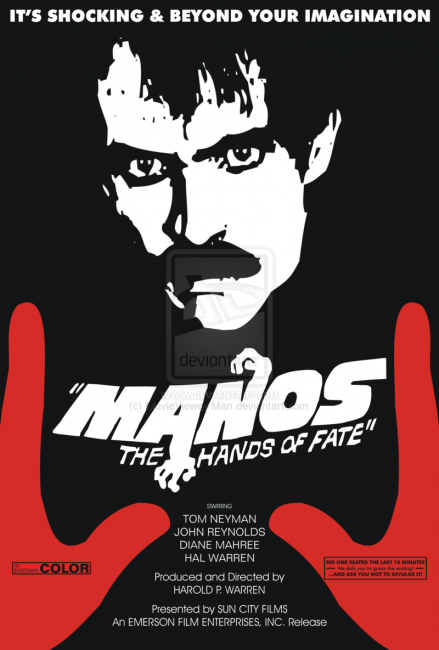 Manos: The Hands of Fate (1966) poster