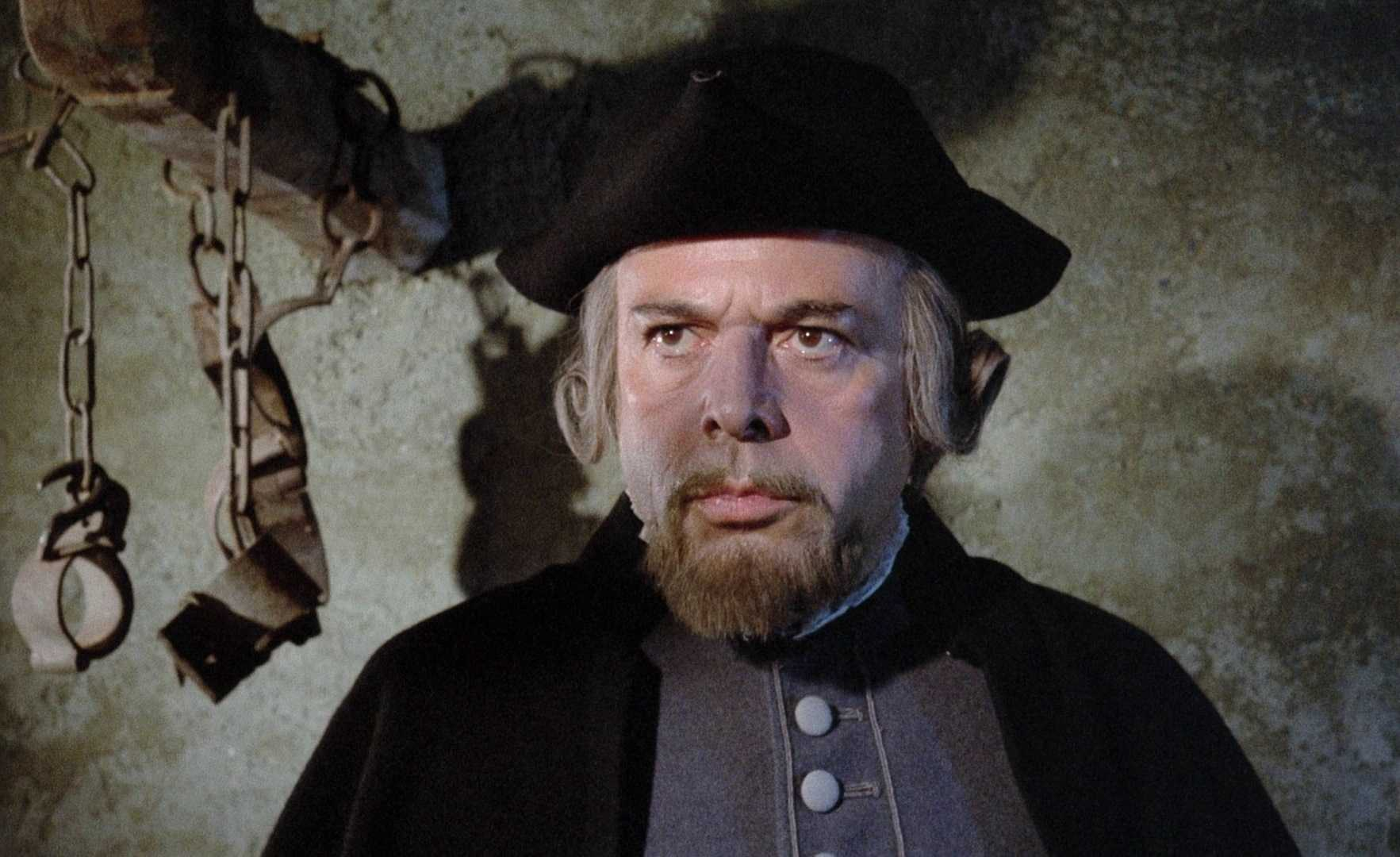 Herbert Lom as the witch hunter Lord Cumberland in Mark of the Devil (1970)