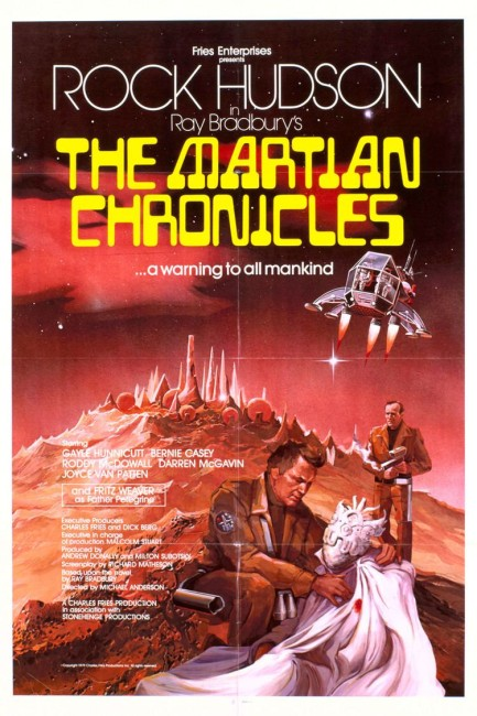 The Martian Chronicles (1980) poster