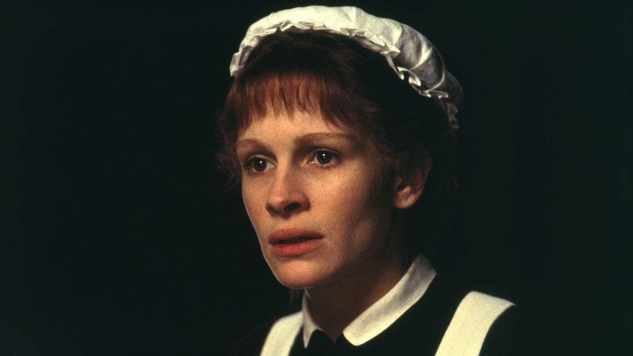 Julia Roberts as Dr Jekyll's maid, Mary Reilly