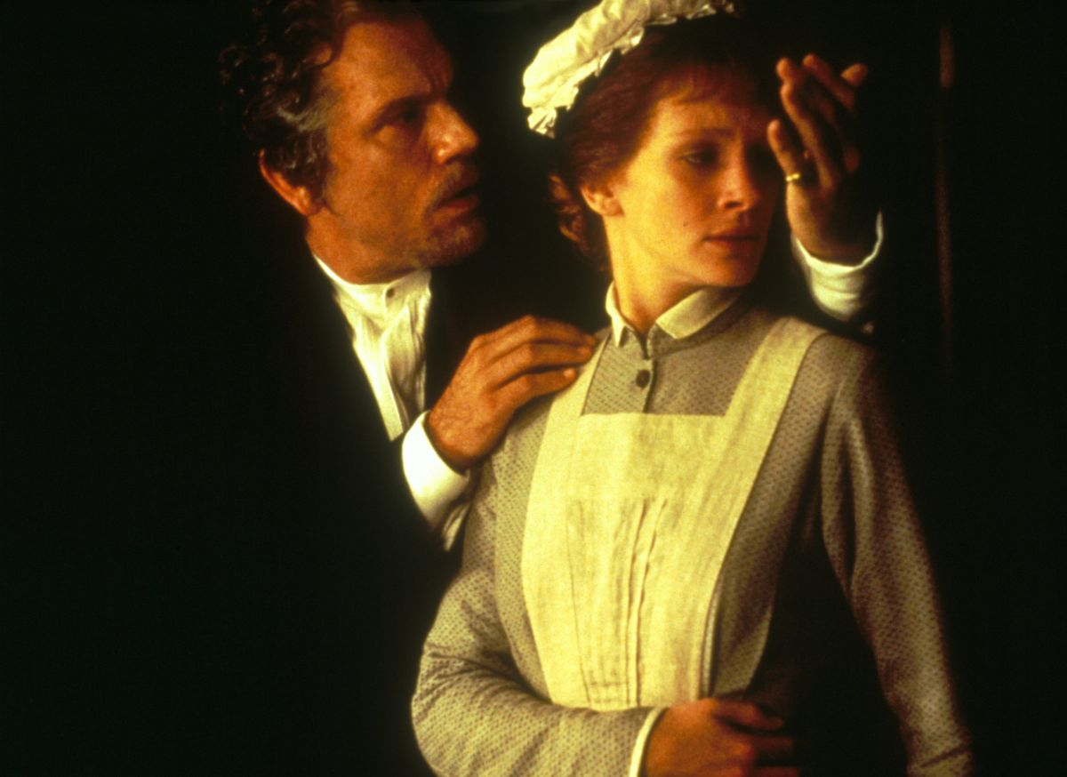 John Malkovich as Dr Jekyll and Julia Roberts as Mary Reilly