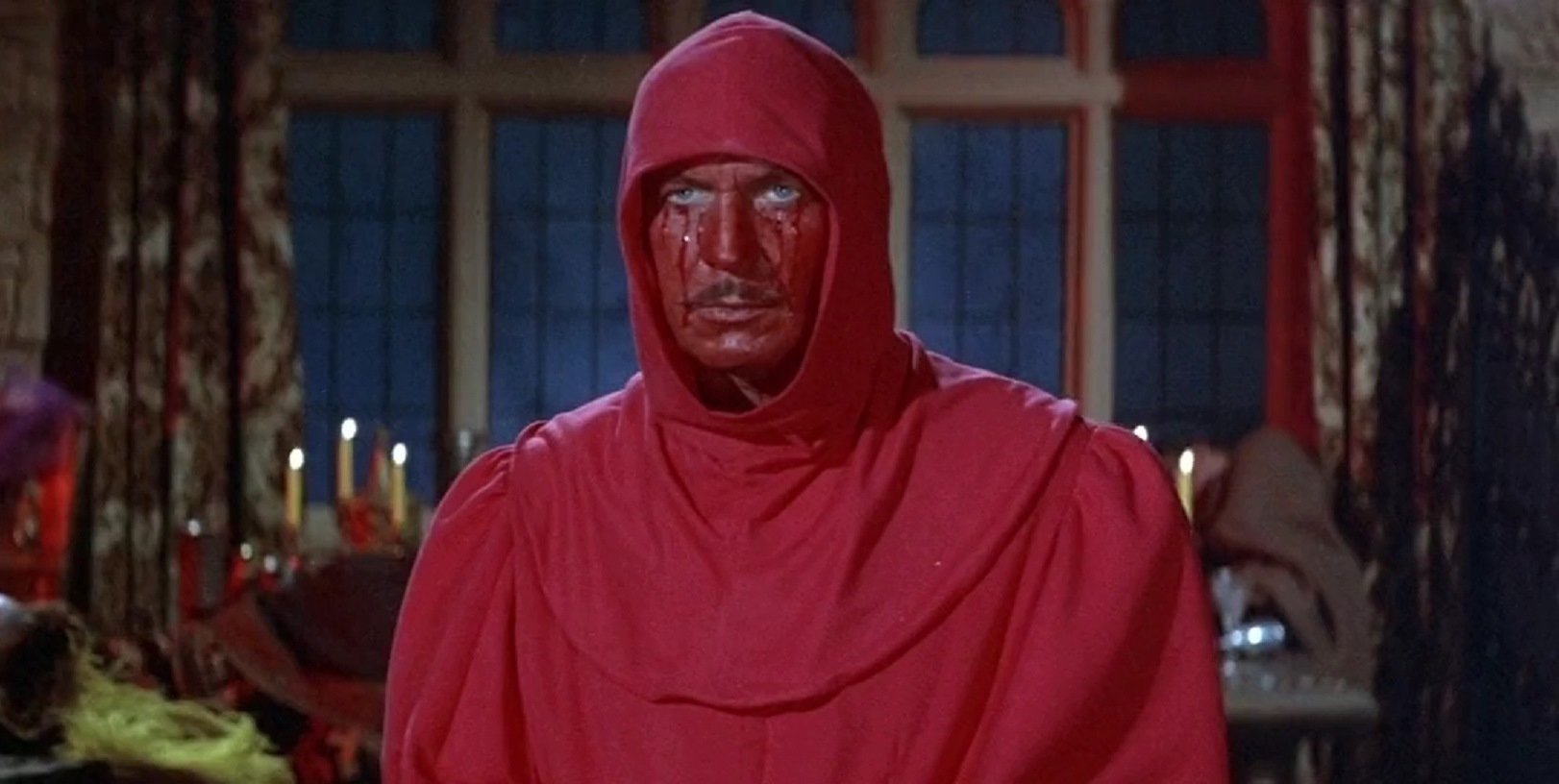 The Red Death (Vincent Price) in The Masque of the Red Death (1964)