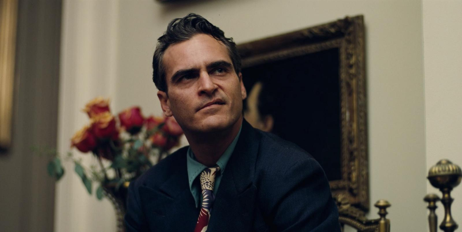 Joaquin Phoenix as the troubled Freddie Quell in The Master (2012)