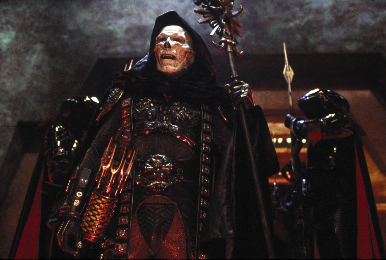 Frank Langella as Skeletor in Masters of the Universe (1987)