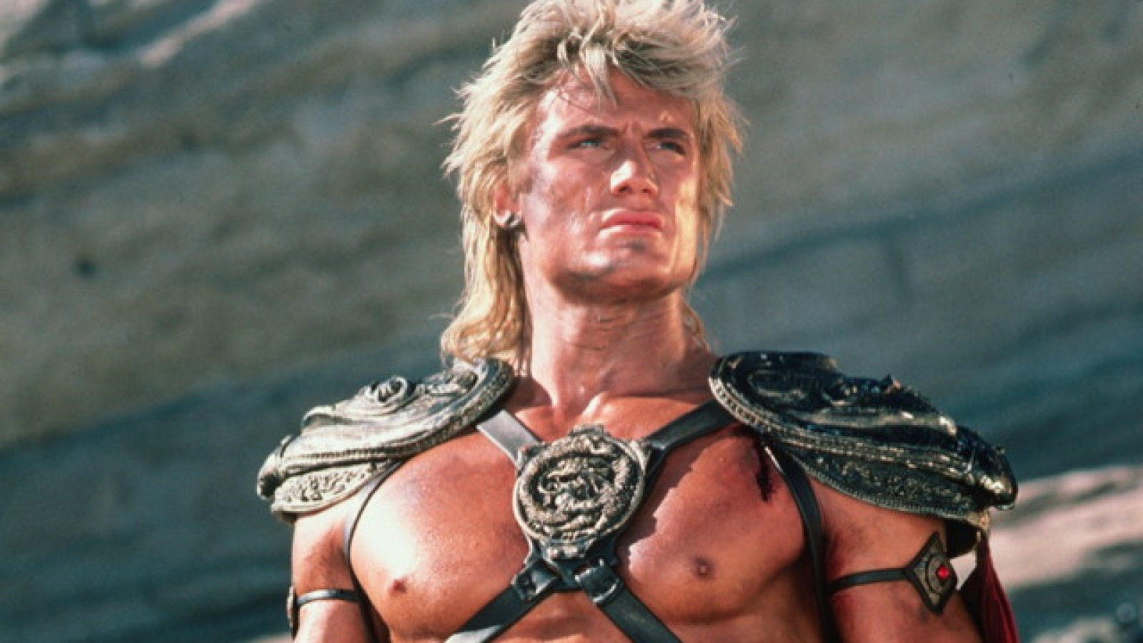 Dolph Lundgren as He-Man in Masters of the Universe (1987)