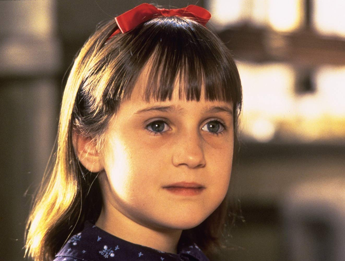 Mara Wilson as Matilda Wormwood in Matilda (1996)