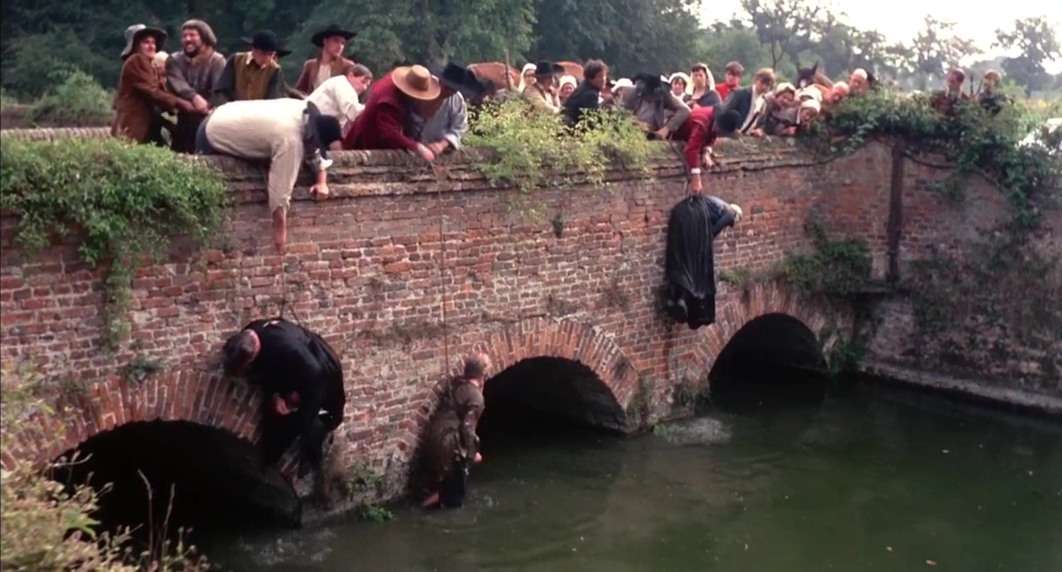 The barbarism of the 17th Century witch hunts in Matthew Hopkins Witchfinder General (1968)