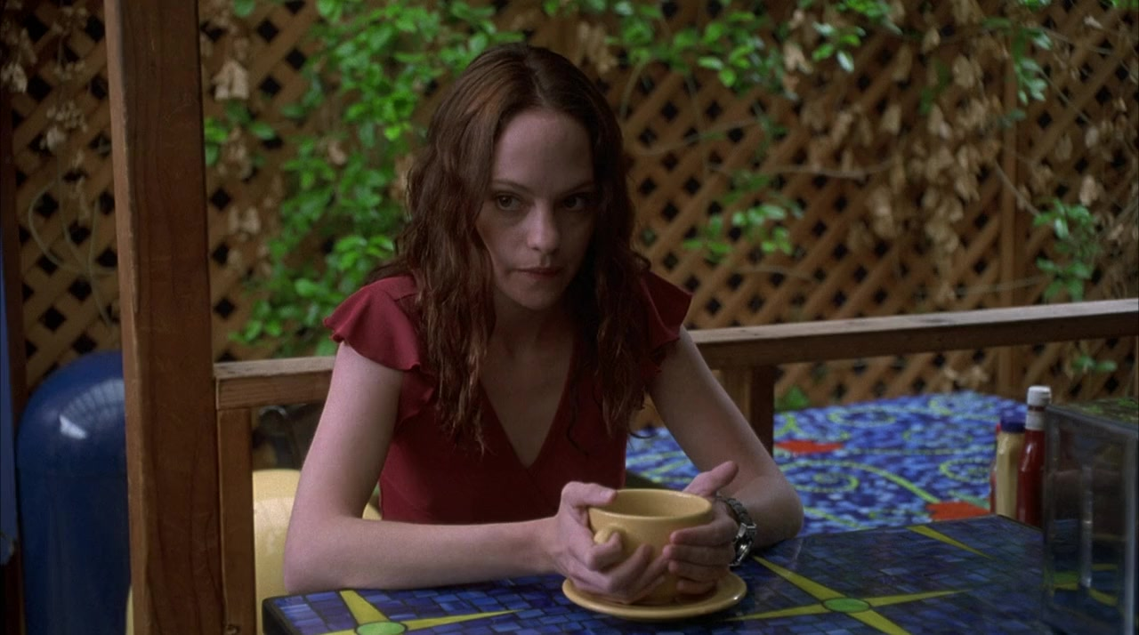 A weird and alienated performance from Angela Bettis as May (2002)