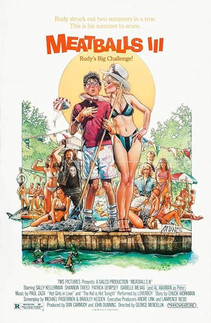 Meatballs 3 Summer Job (1987) poster
