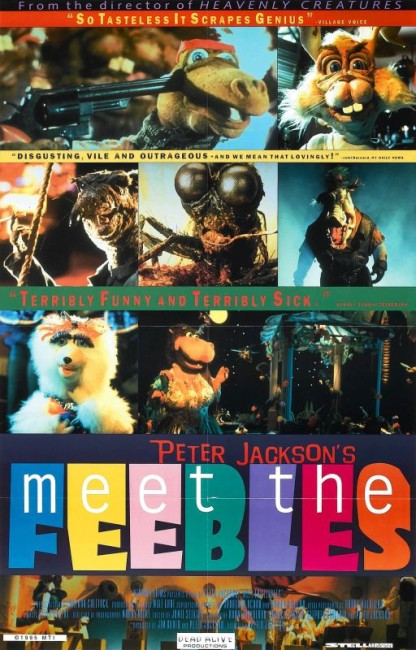 Meet the Feebles (1990) poster