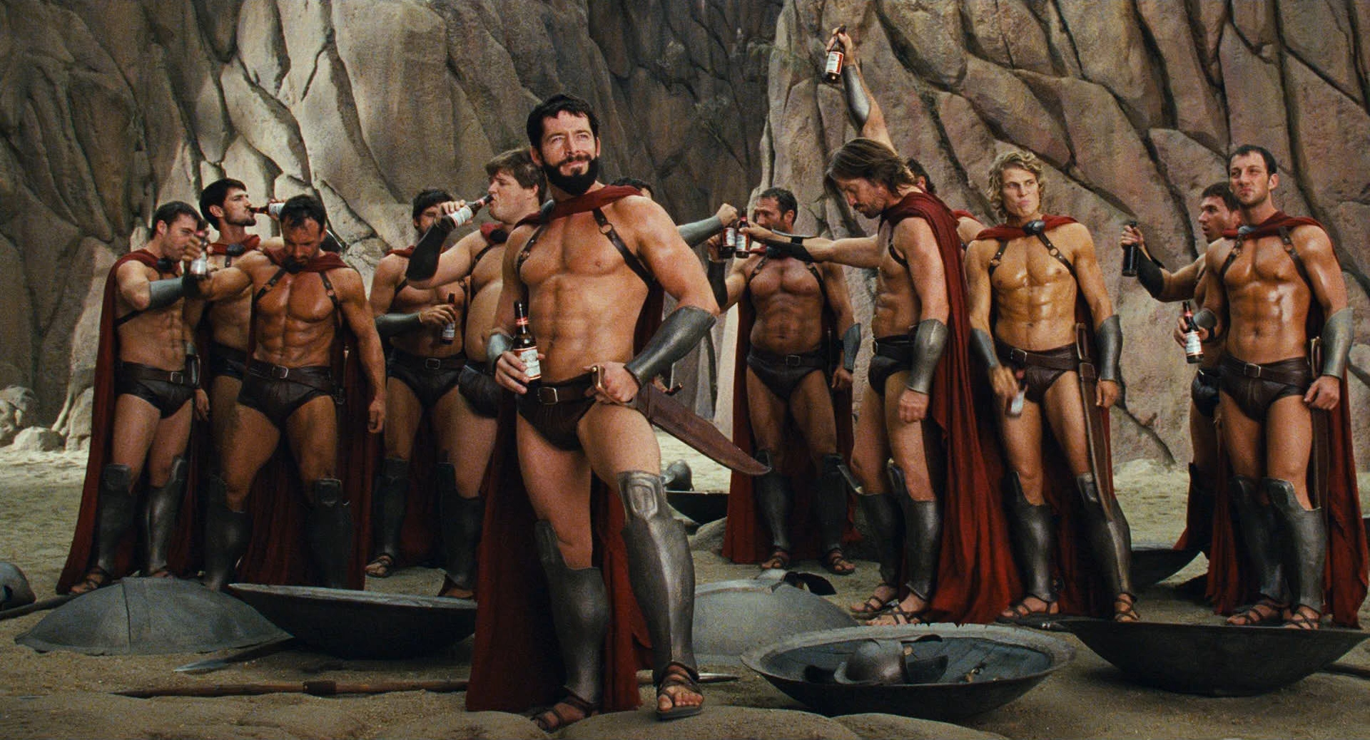The Spartans in Meet the Spartans (2008)