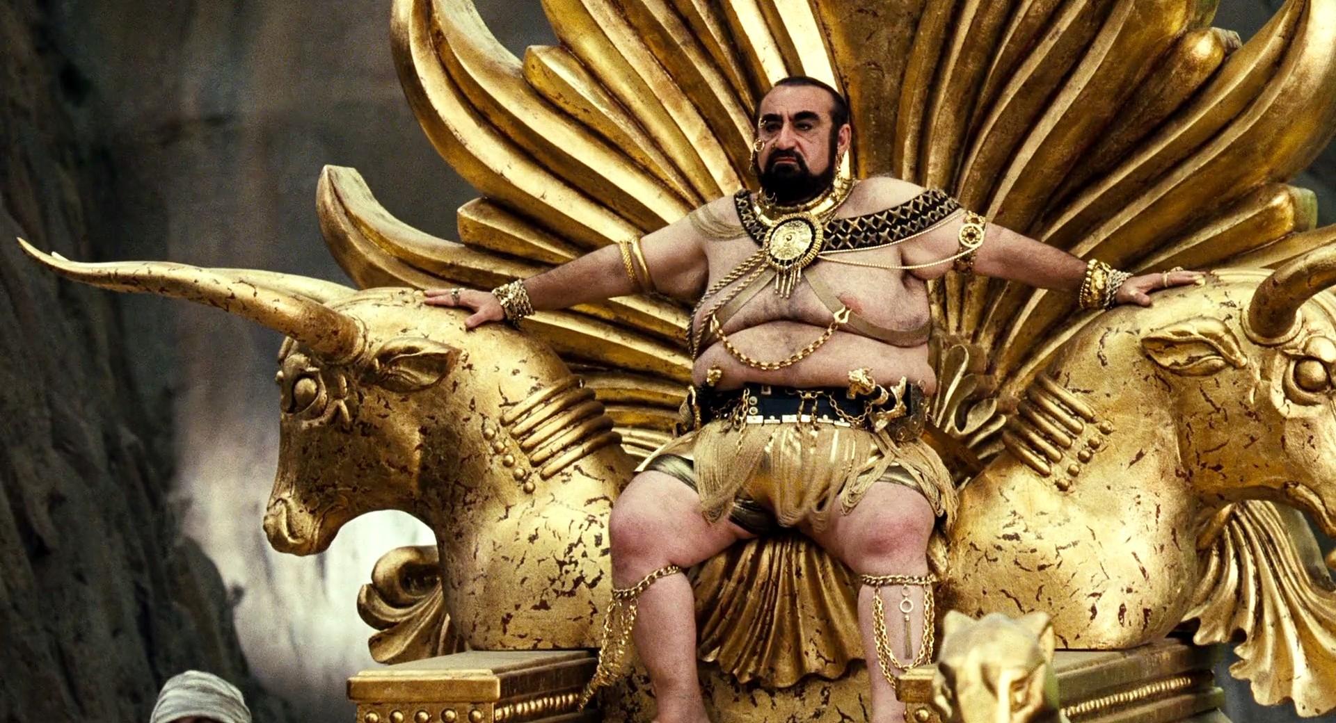 Ken Davitian as King Xerxes in Meet the Spartans (2008)