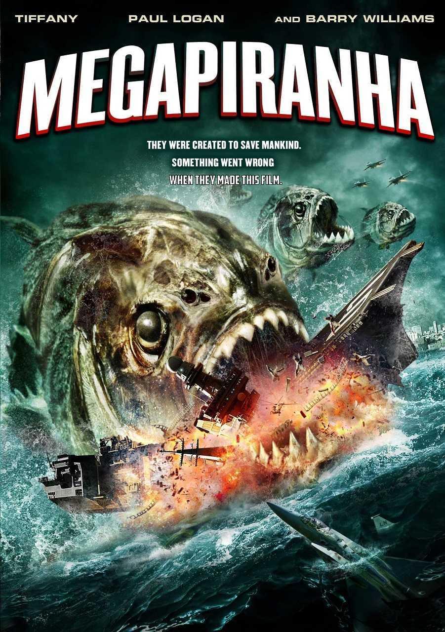 Mega Piranha (2010) poster