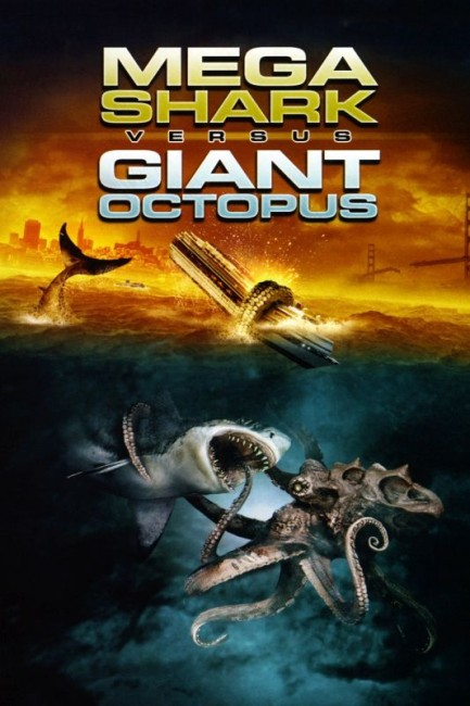 Mega Shark vs Giant Octopus (2009) poster