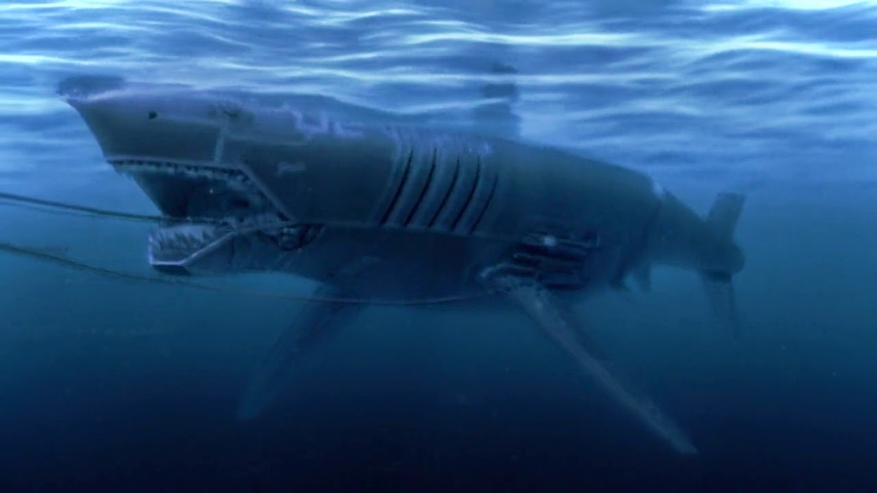 The Mecha Shark in Mega Shark vs Mecha Shark (2014)