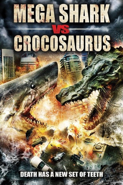 Mega Shark vs. Crocosaurus (2010) poster