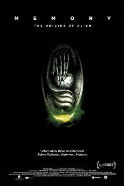 Memory The Origins of Alien (2019) poster