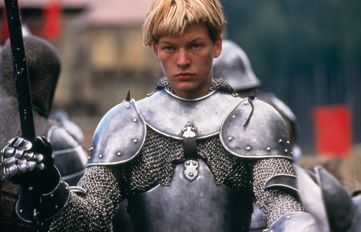 Milla Jovovich as Joan of Arc in The Messenger: The Story of Joan of Arc (1999)