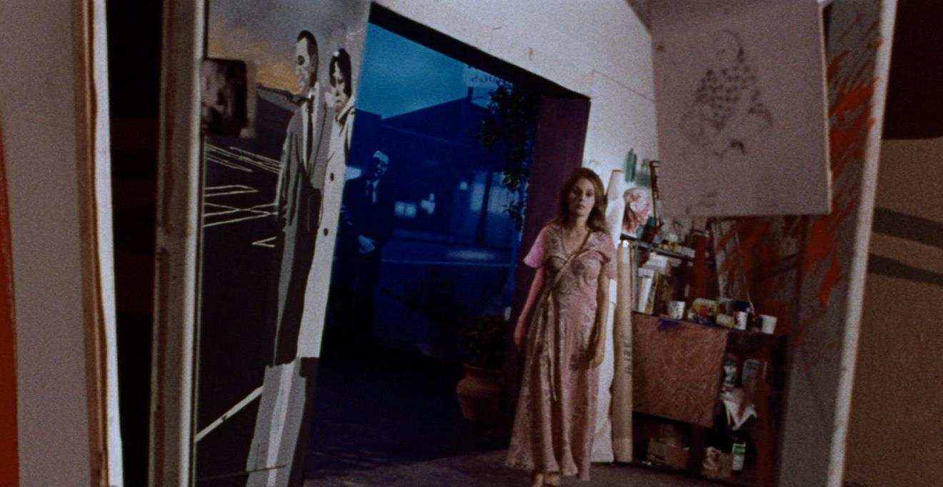 Marianna Hill wanders through her father's house in Messiah of Evil (1973)