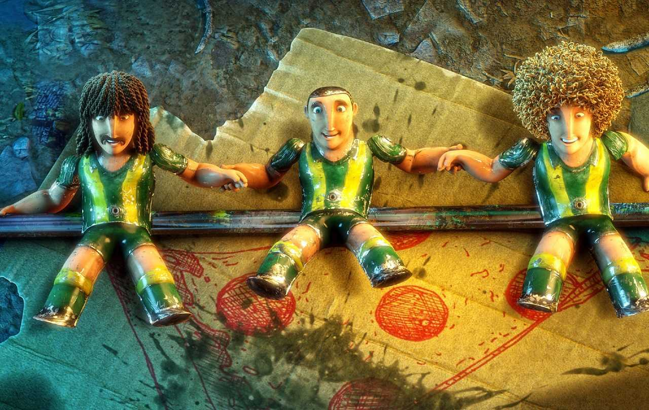 Table footballers come to life in Metegol (2013)
