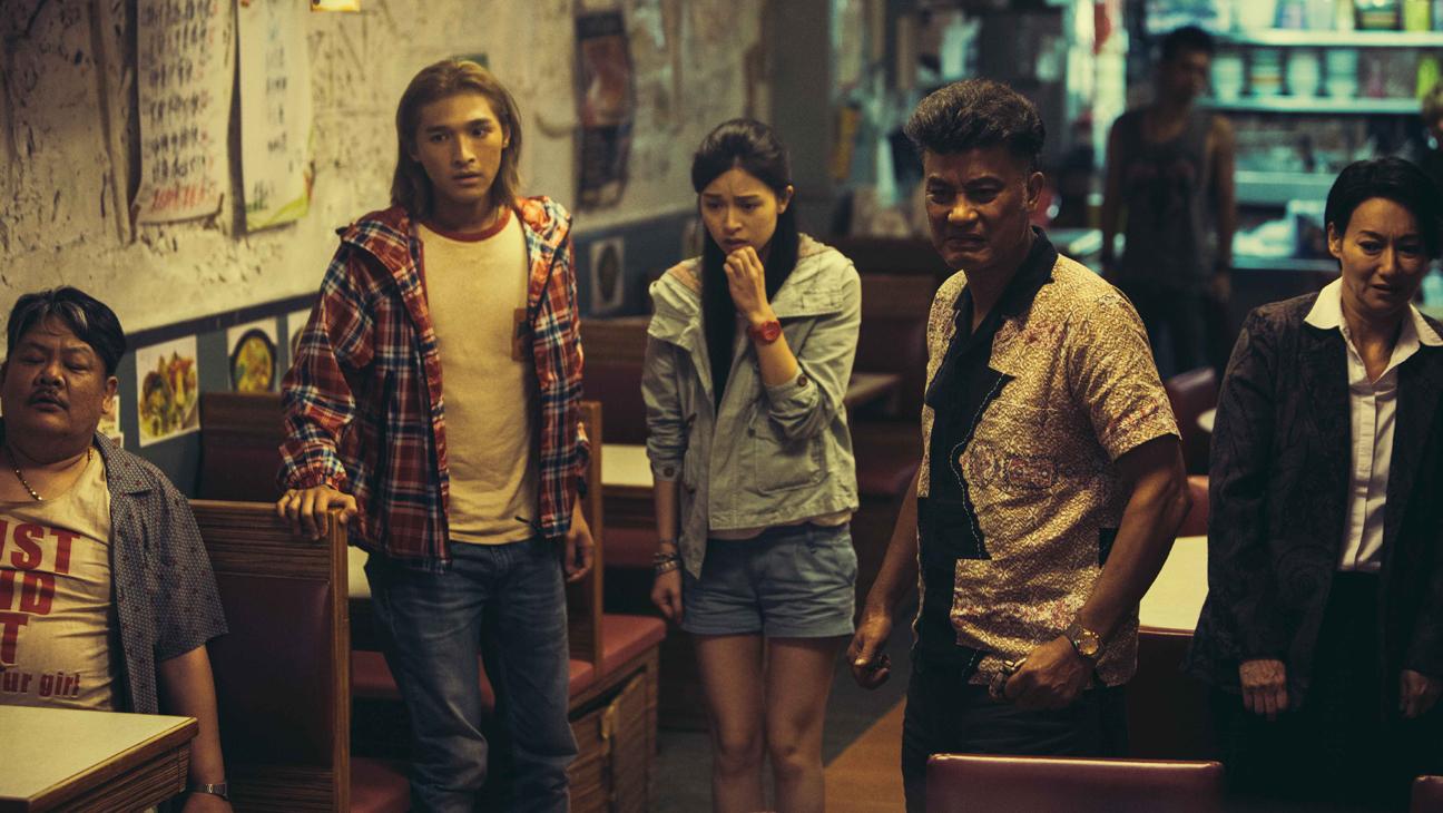 Suet Lam, Tien You Chui, Cherry Ngan, Simon Yam, Kara Wai in The Midnight After (2014)