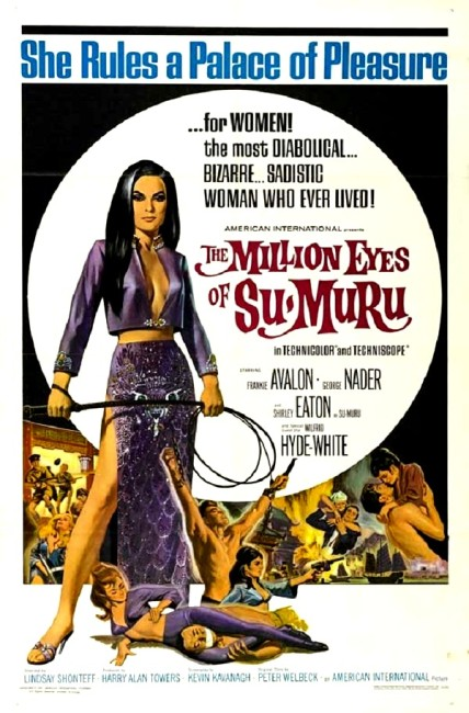 The Million Eyes of Sumuru (1967) poster