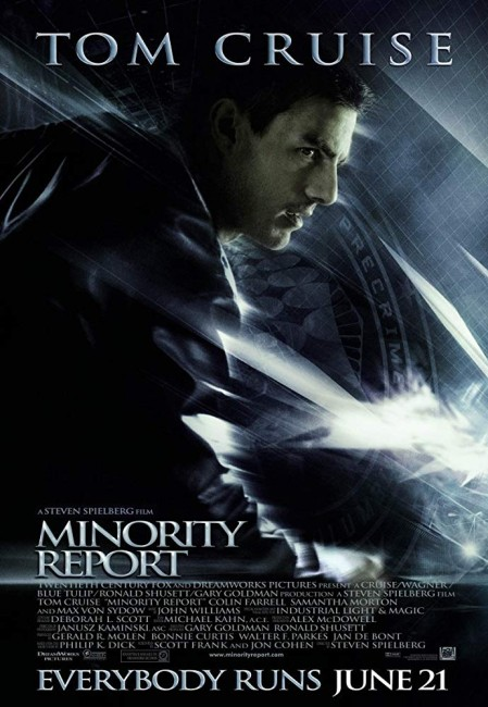 Minority Report (2002) poster