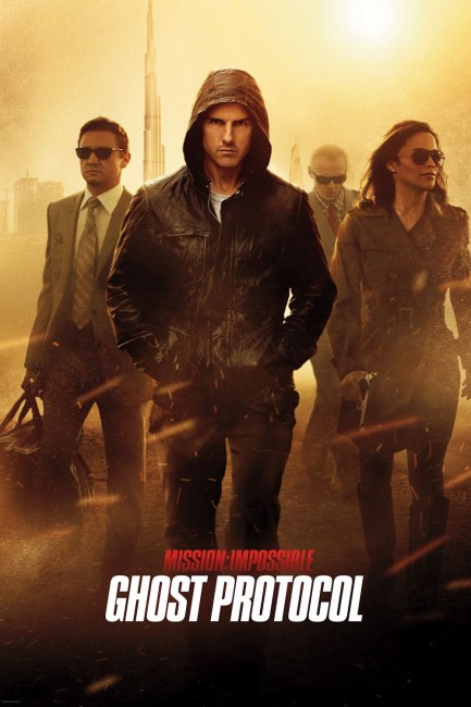 Mission Impossible Ghost Protocol (2011) poster