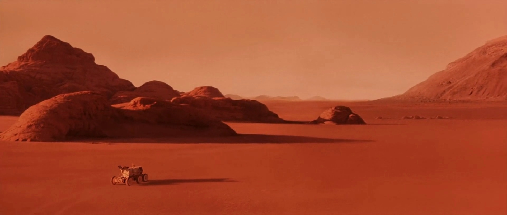 The Martian surface in Mission to Mars (2000)