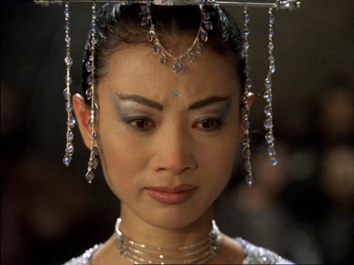 Bai Ling in The Monkey King/The Lost Empire (2001)