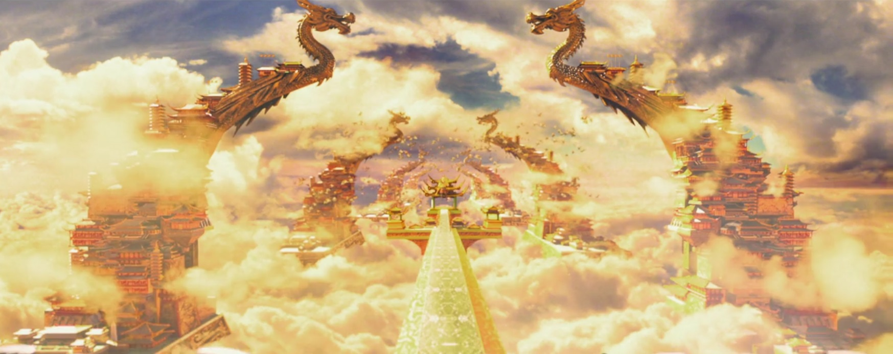 The gate to Heaven in The Monkey King (2014)