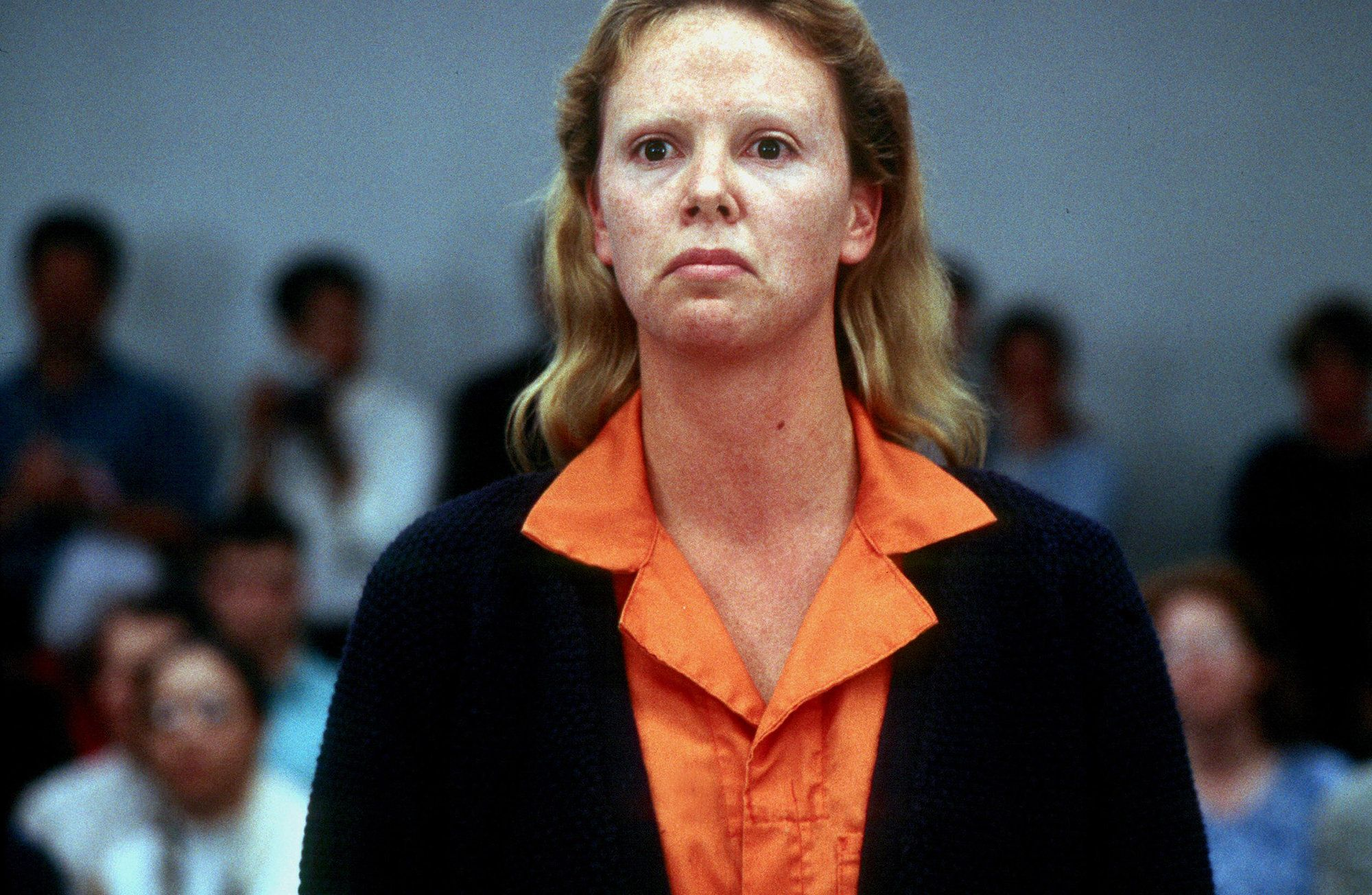 Charlize Theron as Aileen Wuornos in Monster (2003)