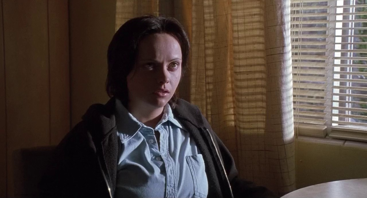 Christina Ricci as Aileen Wuornos's girlfriend Selby Wall (in real-life Tyria Moore) in Monster (2003)