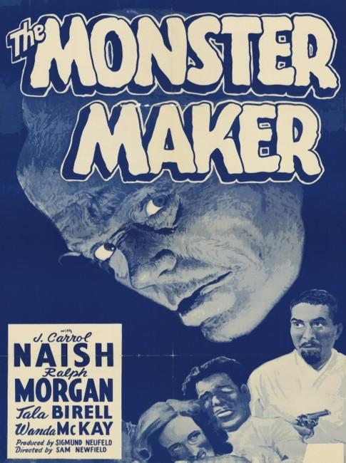 The Monster Maker (1944) poster