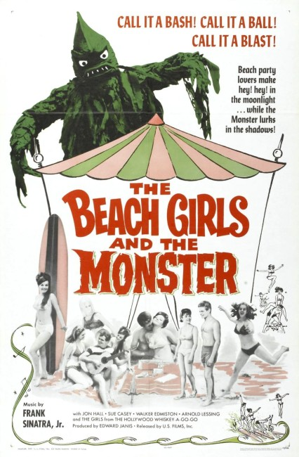 Monster from the Surf (1965) poster