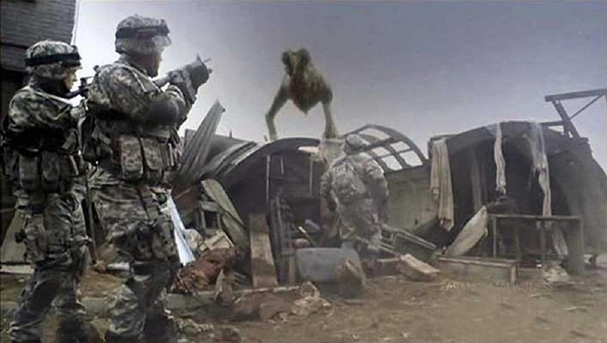 Time-travelling soldiers vs Morlocks (2011)